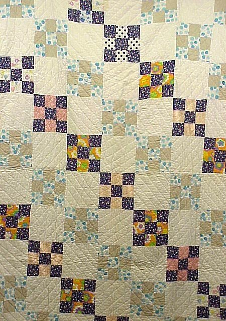 2016: Hand Made 1930s Cotton Quilt