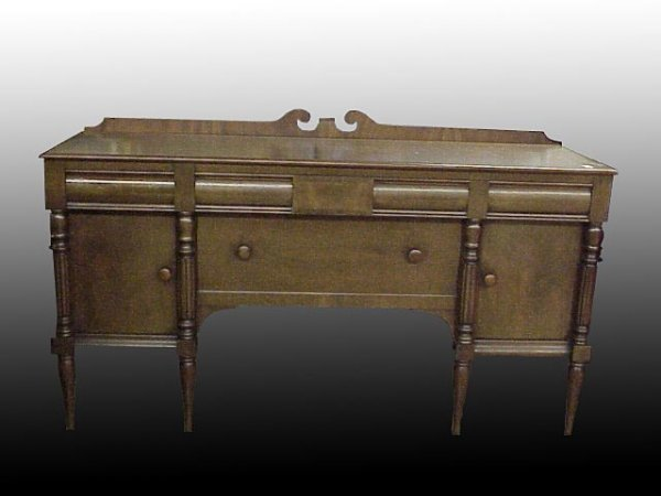 2022: Colonial Revival Mahogany Sideboard
