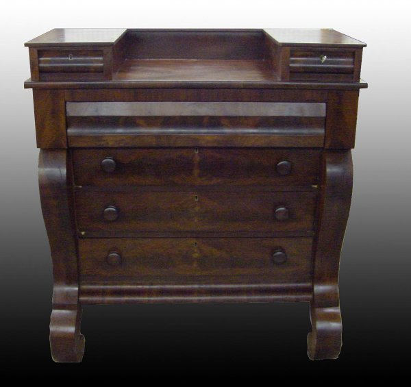 2023: 1830s Empire Scroll Front Chest