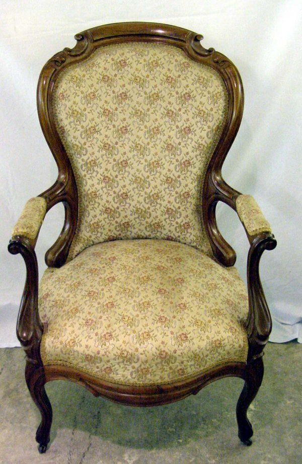 2024: French Victorian Gentlemans Chair