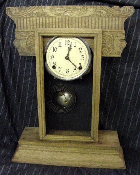 3: Gilbert Lion's Head Kitchen Clock Needing Attention