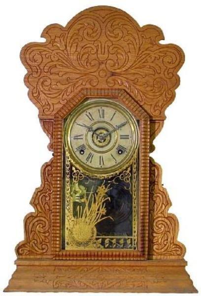 17: Sessions Oak Kitchen Alarm Clock