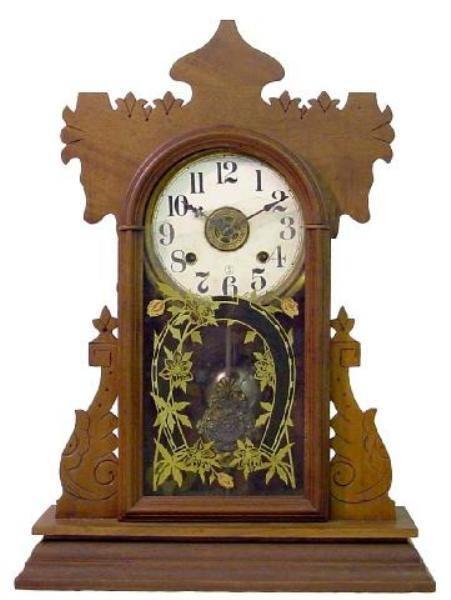 24: Seth Thomas Walnut Kitchen Alarm Clock