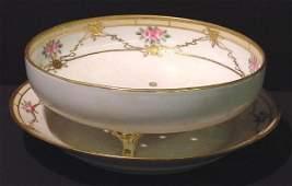 1331: Nippon Berry Bowl w/Underplate
