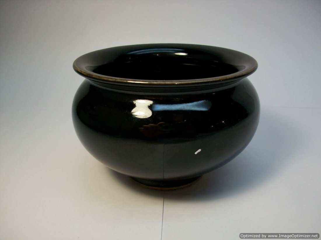 Chinese black Porcelain burner