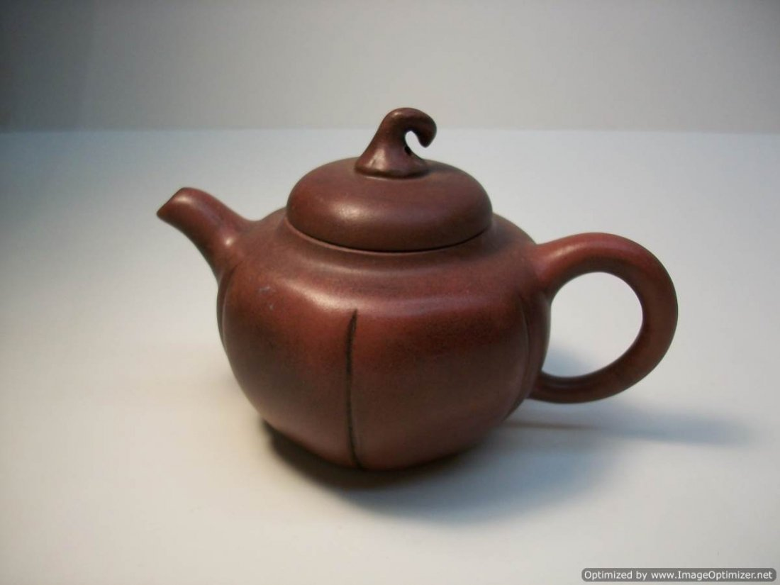 Chinese Red Clay Teapot