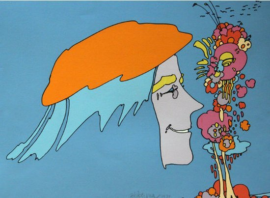 Peter Max--Remembering It