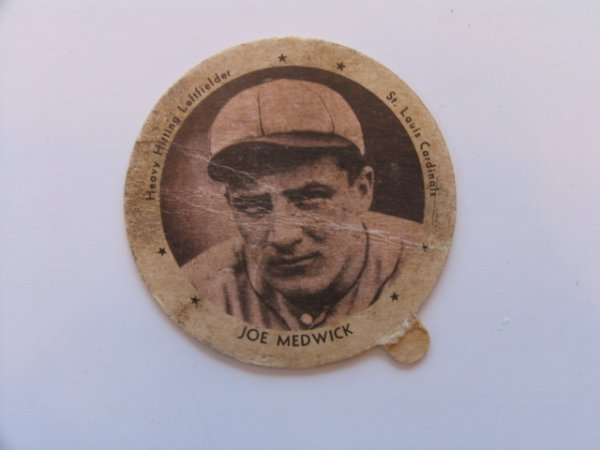 1002: Ducky Medwick St. Louis Cardinals 1937 Dixie Lid