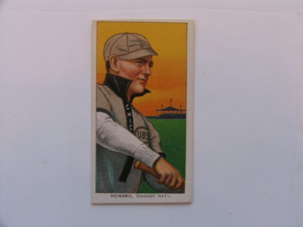 1004: Del Howard Chicago Cubs 1909 T206 Tobacco Card