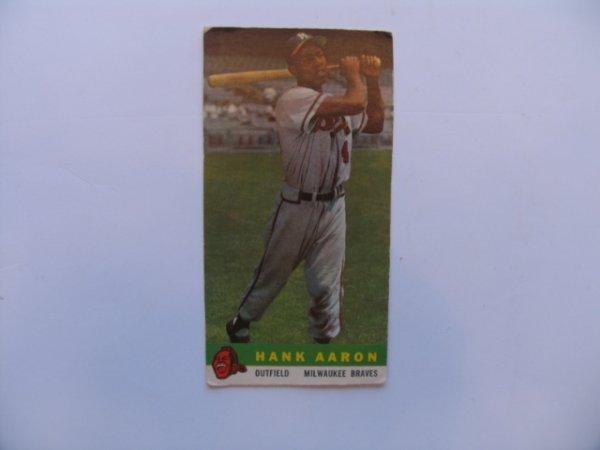 1006: Hank Aaron 1959 Bazooka Baseball Card #1