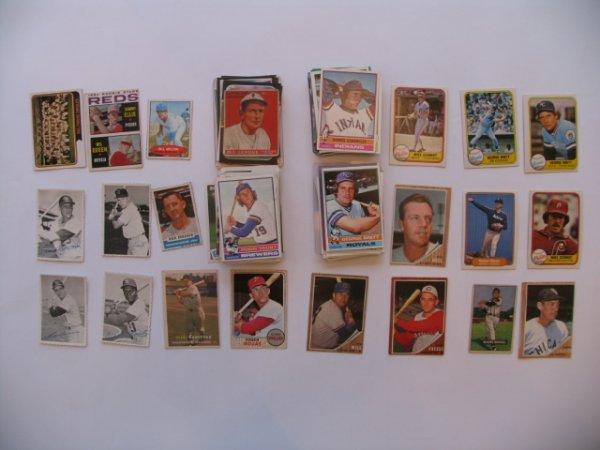 1008: Baseball Cards Lot 100+ Vintage, HOF'er, Star, Ro