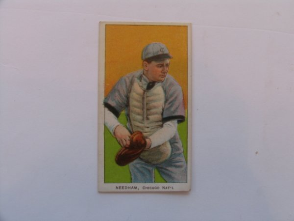 1009: Tom Needham Chicago Cubs 1909 T206