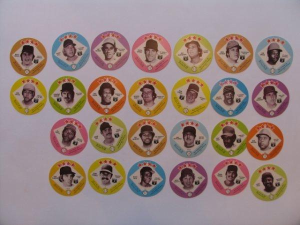 1010: 1978 Big T/Tastee Freeze Baseball Discs