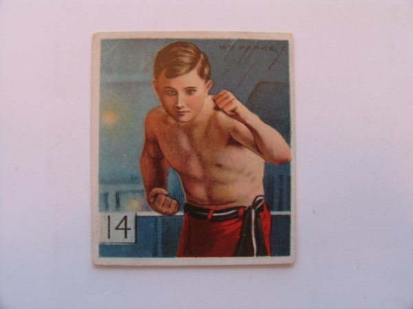 1015: Billy Papke T218 TOLSTOI Boxer Tobacco Card