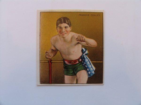 1020: Frankie Conley T218 Boxer Tobacco Card c. 1910
