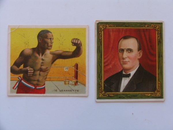 1022: Boxing Referee T218 Mecca Tobacco Cards
