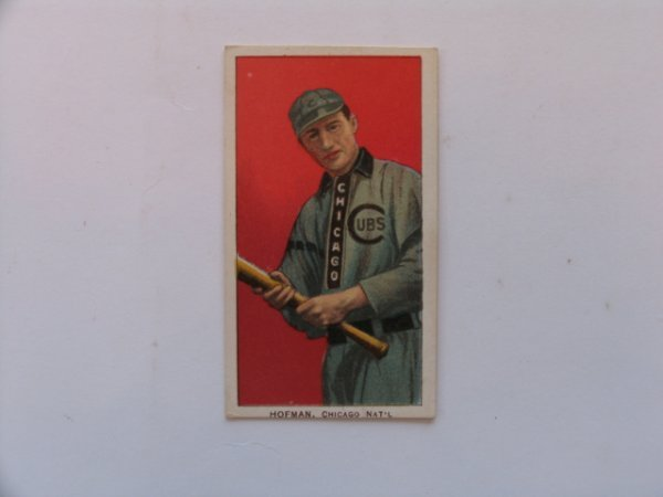 1024: Solly Hofman 1909 T206 Tobacco Card
