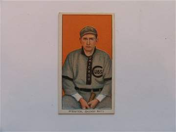 1034: Jack Pfeister 1909 T206 Tobacco Card    Mint