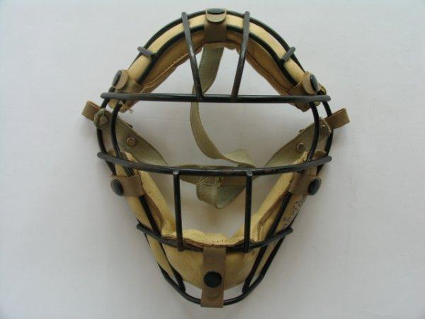 1241: Cambridge M21 Series Catchers Mask c. 1940's
