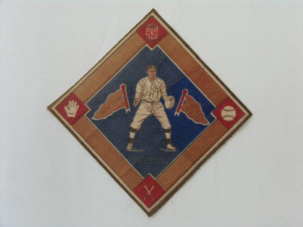 2004: Ed Sweeney Yankees 1914 B18  Tobacco Blanket