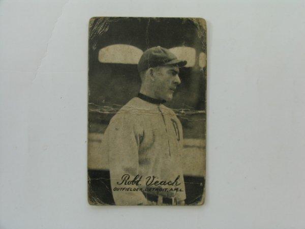 2005: Bobby Veach  1921 Exhibit Baseball Card