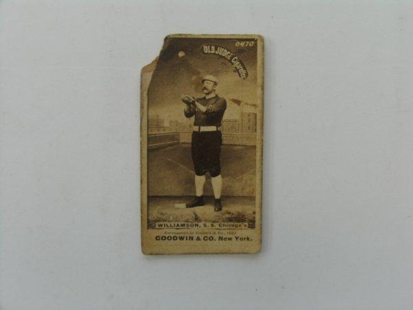 2006: Ned Williamson N172  Tobacco Baseball Card