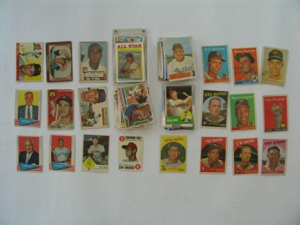 2008: Baseball Card Lot 100+ HOF, Star, Rookies