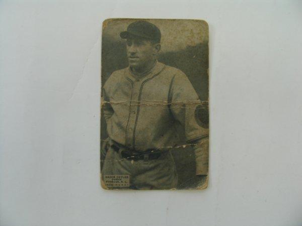 """2010: Kiki """"Hazen"""" Cuyler  1925 Exhibit Baseball Card"""