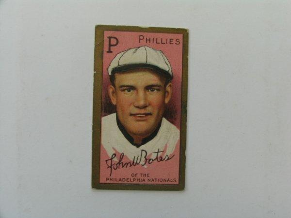 2013: John Bates, Philadelphia 1911 T205 Baseball