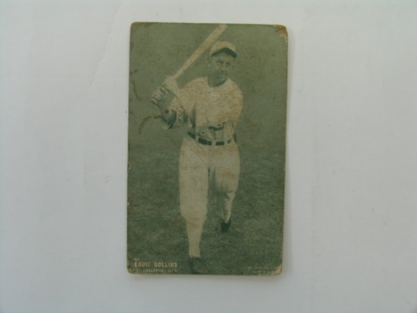 2015: Eddie Collins Philadelphia A's 1927 Card