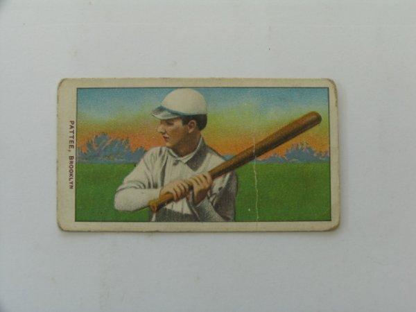 2018: Pattee, Brooklyn 1909 T206 Tobacco Card