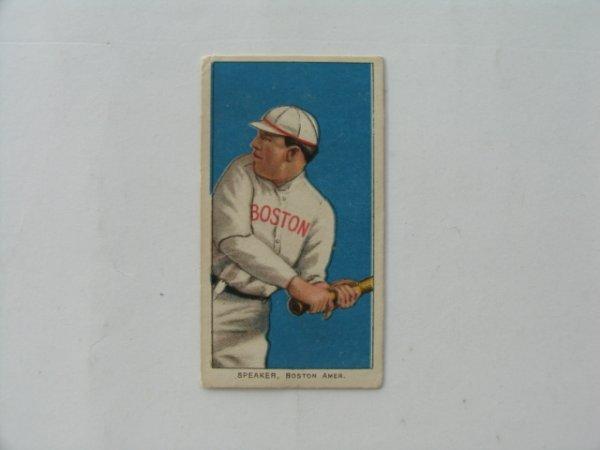 2061: Tris Speaker Boston 1909 T206 Tobacco Card