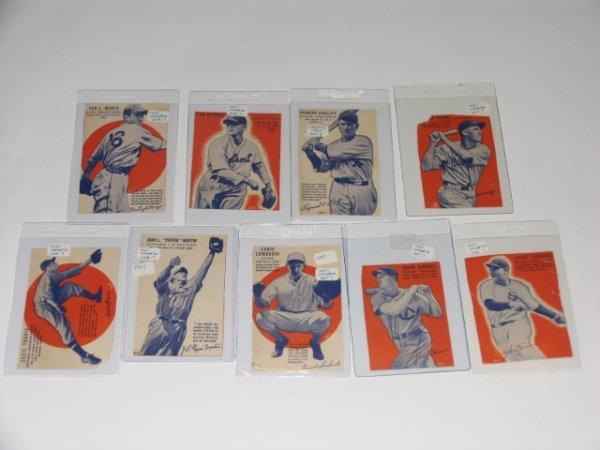 2326: 1937 Wheaties Baseball Cards Series 7