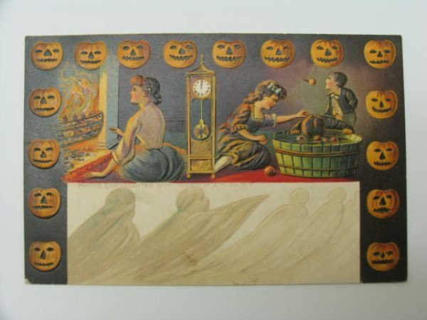 1: Postcard, Greetings, Halloween