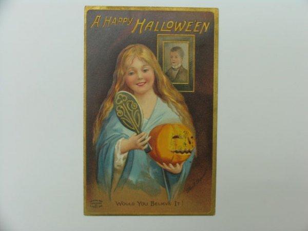 5: Postcard, Greetings, Halloween