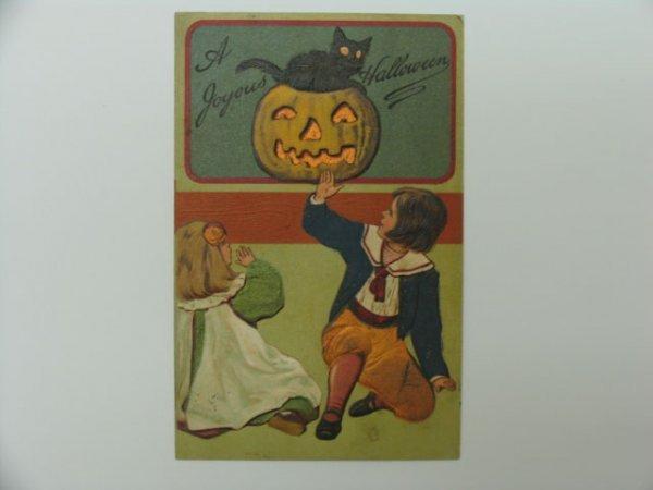 7: Postcard, Greetings, Halloween