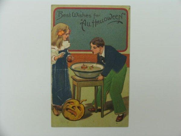 8: Postcard, Greetings, Halloween