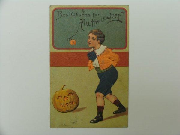9: Postcard, Greetings, Halloween