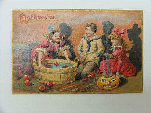 10: Postcard, Greetings, Halloween