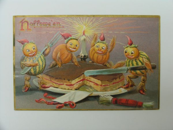 11: Postcard, Greetings, Halloween