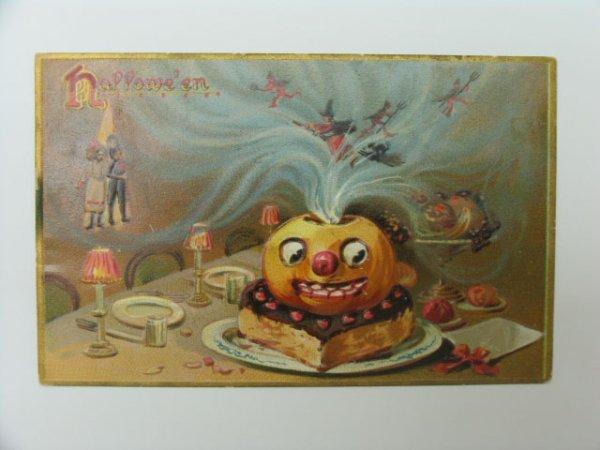 12: Postcard, Greetings, Halloween