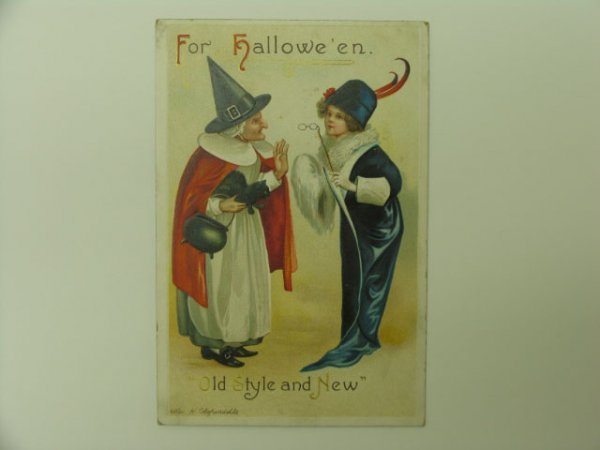 13: Postcard, Greetings, Halloween