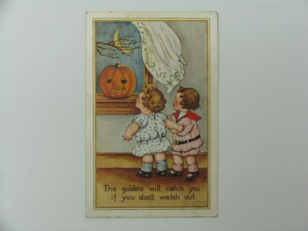 14: Postcard, Greetings, Halloween