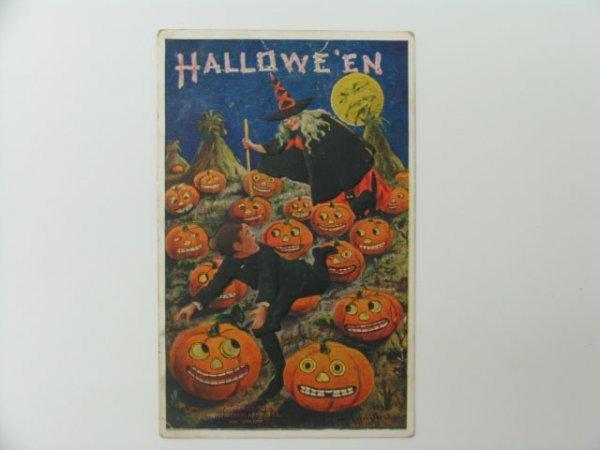 15: Postcard, Greetings, Halloween