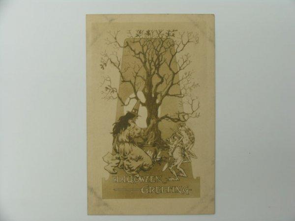 16: Postcard, Greetings, Halloween