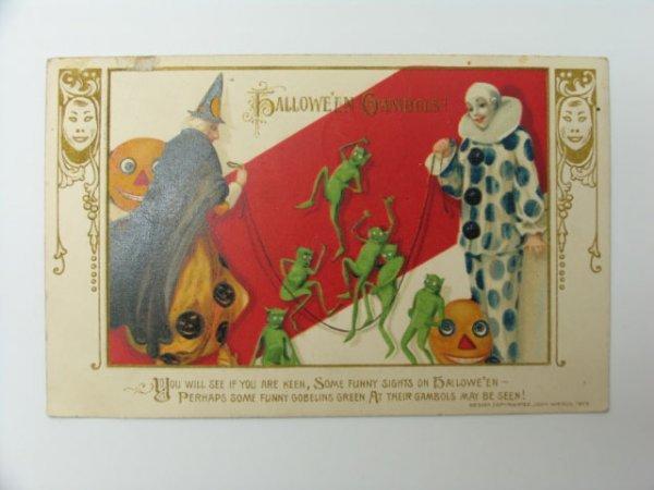17: Postcard, John Winsch 1913 Halloween