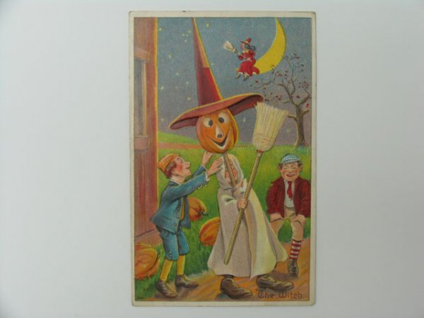 19: Postcard, Greetings, Halloween