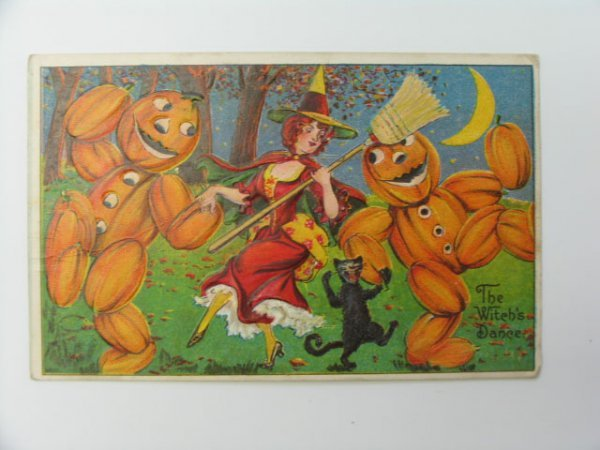 20: Postcard, Greetings, Halloween