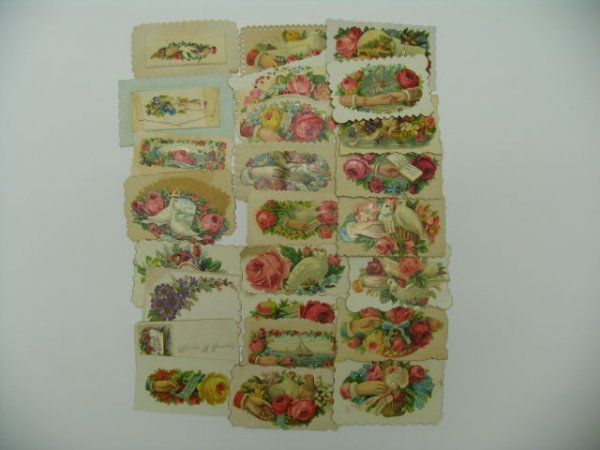 23: Victorian Calling Cards, 25 Count