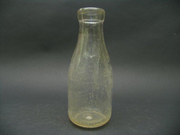 1005: Downey Dairy, Downsville, MD Milk Bottle